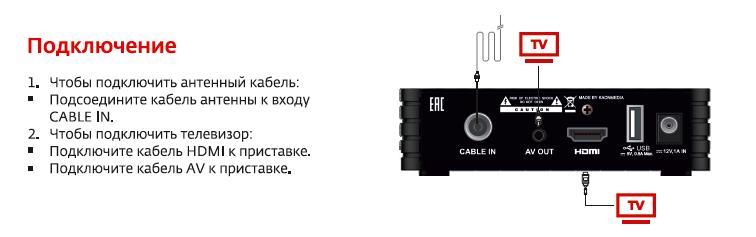 Как подключить hd tv приставка дом.ру